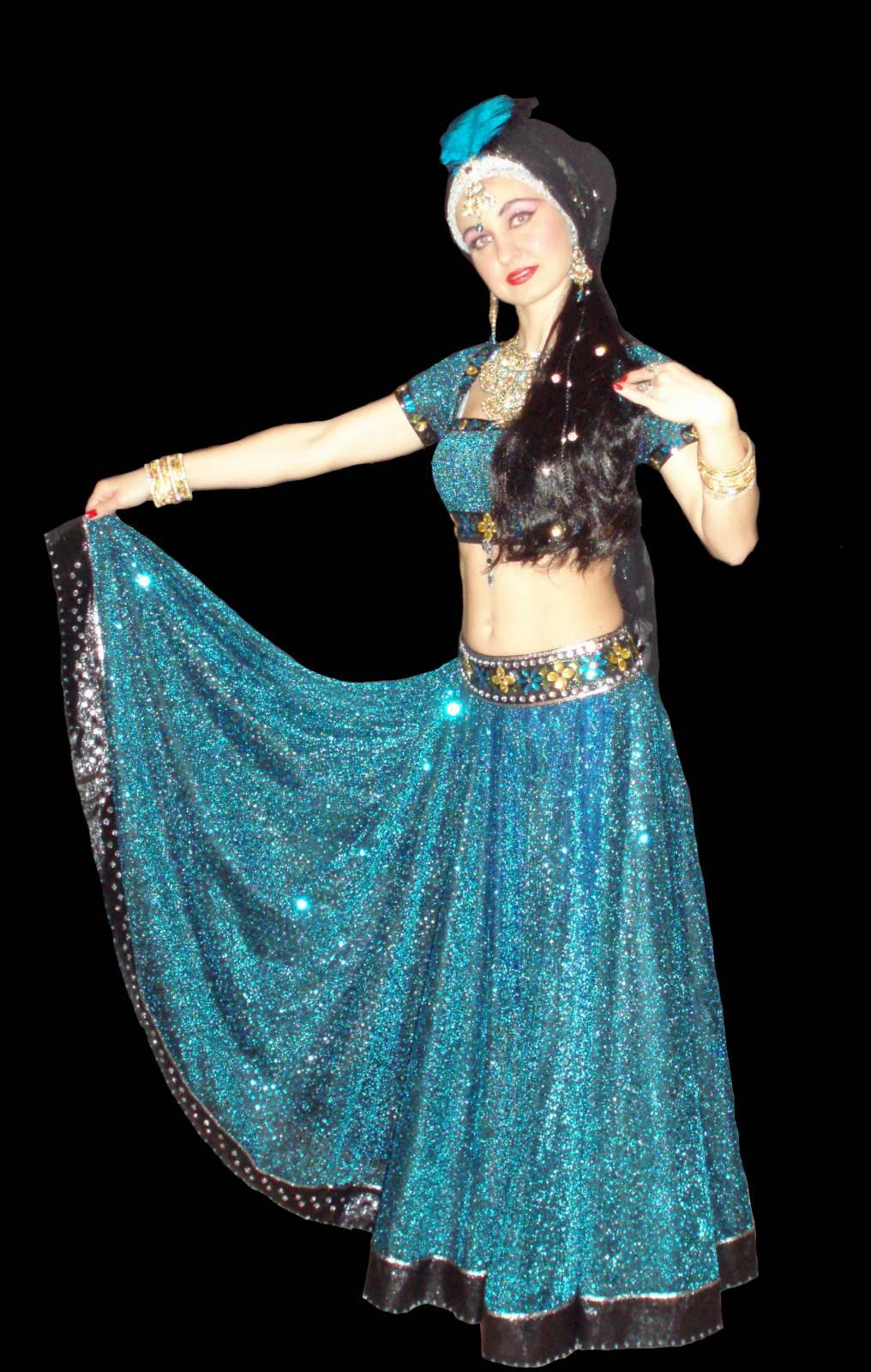 Индийский костюм для танцев своими руками